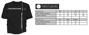 Next Level Kids Size Chart American First Patriotic Apparel