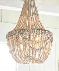 wood bead chandelier beaded chandelier wood bead chandelier world market