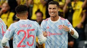 كريستيانو رونالدو يعادل رقم ميسي بهدفه في مباراة مانشستر يونايتد ضد يونغ  بويز