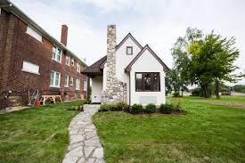 tiny houses in massachusetts. A White Tiny House With Brick Chimney. Houses In Massachusetts
