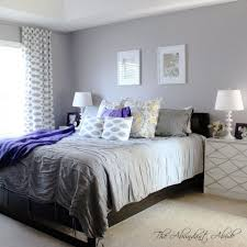Purple And Gray Bedroom Beautiful Gray Bedrooms
