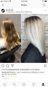 Full Balayage Hair Color Cool Blonde