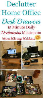 office desk storage solutions. How To Declutter Desk Drawers In Your Home Office Get Rid Of The Clutter And Storage Solutions S