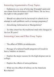 Evaluative Essay Topics Interesting Essays Topics Komphelps Pro