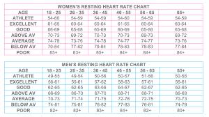 Normal Heart Rate For Men Heart Rate Zones