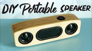 Diy Bluetooth Speaker Design Simple Diy Portable Bluetooth Speaker How To