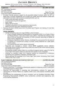 Contract Specialist Resume Resume