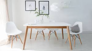 modern white and oak extending dining set eames dining chair copy white eames dining chairs and white gloss extending dining table
