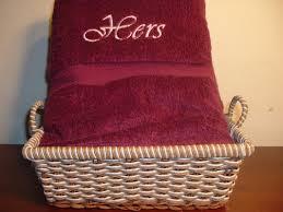 burgundy robe bath towel set with free gift basket