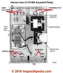 aquastats setting wiring heating system boiler aquastat install set up wire l8148 aquastats
