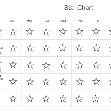 Gold Star Chart For Adults Behavior Star Chart Star Behavior Charts Star Chart For