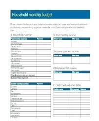 sample personal budget household budget excel template personal budget excel template
