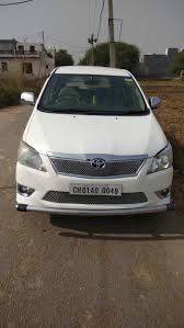 Used Toyota Innova 2.5 G in Chandigarh 2012 model, India at Best ...