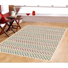 furnishmyplace spring mix natural 100 wool braided 7x9 area rug intended for decorations 15