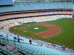 Dodger Stadium Seating Chart Infield Reserve Dodger Stadium View From Infield Reserve 34 Vivid Seats