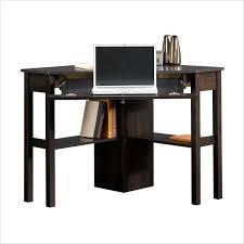 sauder beginnings corner computer desk cinnamon cherry