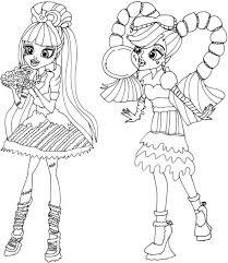 Small Picture Free Printable Monster High Coloring Pages Sweet Screams Monster