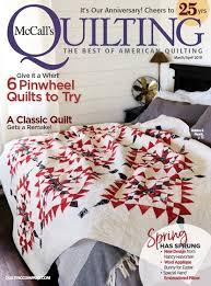 Mccall's Quilting | Mccall's Quilting Magazine Subscription Deals & Mccall's Quilting Magazine | 3/2018 Cover Adamdwight.com