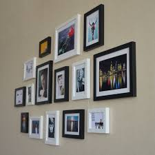 Small Picture Wall Design Picture Wall Frames Design Empty Picture Frame Wall