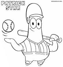 39 Patrick Coloring Pages Patrick Star Coloring Page Coloring Home