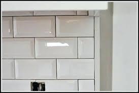 subway tile backsplash edge. Interesting Subway Backsplash Edge Beveled Subway Tile Detail  And Subway Tile Backsplash Edge