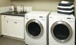 lowes samsung dryer. Lowes Clothes Washer Corner Laundry Room Cabinets Samsung Hoses Dryer