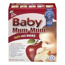 Hot-Kid <b>Baby Mum</b>-<b>Mum Apple</b> Rice Rusks | Walmart Canada