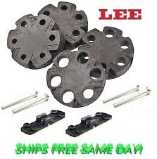 Lee Double Disk Kit For Auto Disk Powder Measure Riser Screws Included 90195 734307901950 Ebay