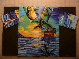 Construct a Hawaiian shirt quilt block tutorial   Hawaiian shirts ... & Construct a Hawaiian shirt quilt block tutorial Adamdwight.com