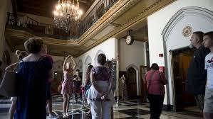 An entertainment epicenter of grand architectural. Tour Offers A Peek Inside Detroit S Masonic Temple