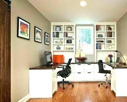 two desk office. Home Office Desks For Two People Person Desk 2  .