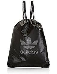 adidas drawstring bag. adidas originals unisex metallic gym sack drawstring bag