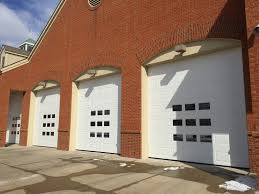 three door commercial garage doors nofziger groveport ohio