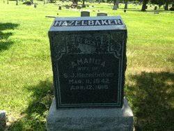 Amanda Lounsbury Hazelbaker (1842-1916) - Find A Grave Memorial