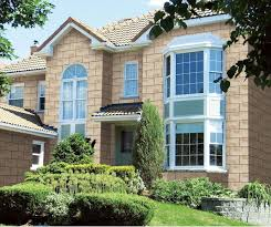 natural siding exterior wall tiles designs with large windows can add the elegant touch inside modern