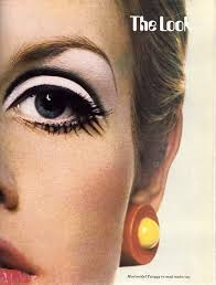 mod model twiggy in mod make up 60s party at the walker inspiration