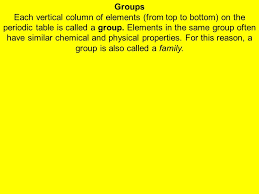 The Periodic Table Chapter 7 Section ppt video online download