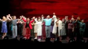broadway theatre curtain call