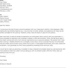 Senior Manager Cover Letter Senior Management Cover Letter Senior ...