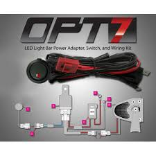 off road light wiring kit off image wiring diagram opt7 opt7 off road led light bar on off power switch 40 amp relay on off epauto light wiring harness