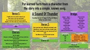 a sound of thunder presentation reuben daniel f jamie and alex db a
