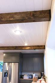 faux ceiling beams diy kitchen chronicles wood beams sue design blog would love to do a faux ceiling beams diy faux wood