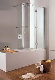 36 x 61 curved swing hinged bath tub enclosure bath tub glass screen with swing door