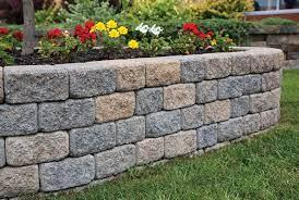 installing a garden wall in 3 easy