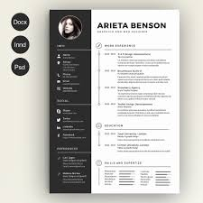 Beautiful Cv Template Word Modern Beautiful Resume Template Example Unique Page Word