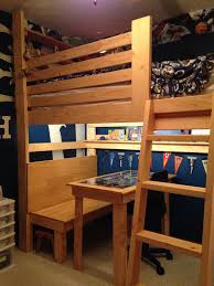 college loft bed