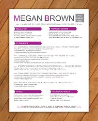 Colorful Resume Templates Resume Colorful Resume Templates 20