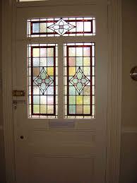 front door glass panels replacement insert stained exterior doors