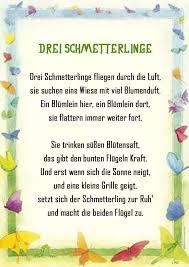 Schmetterling Gedicht Kindergarten Erzieherin Kita Kinder Erziehung