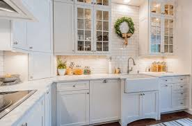 Small white kitchens Backsplash Freshomecom White Kitchen Ideas To Inspire You Freshomecom